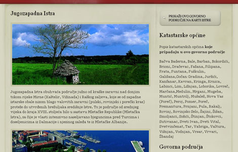 Istrian dictionary