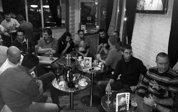 Around 30 people gathered in Zagreb for the first informal WordPress Coffee