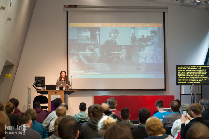 The only talk about REST API that I understand – Petya talked about the importance of it and how will change the WordPress world (Photo by: Kari Leigh Marucchi)